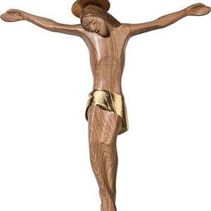 Cristo di Frassino senza croce con aureola (stile  da Roma)