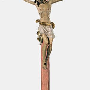 Cristo con croce ad arco (stile  Toscano-Pisa)