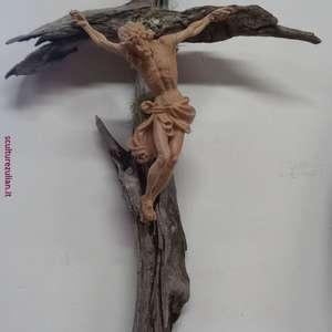 Cristo in cirmolo e larice