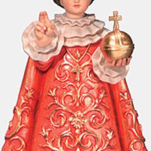 Gesù di praga con vestito
