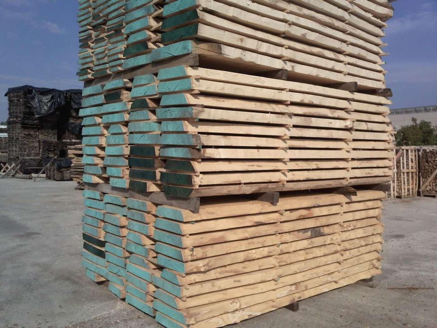 La stagionatura del legno